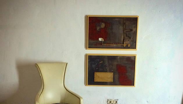 Exposición de pintura de César Sancho en la Galería San Antón