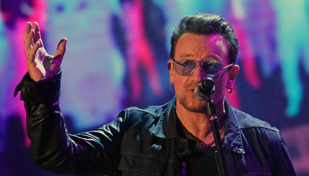 Bono, en un concierto en Milán este mes de octubre
