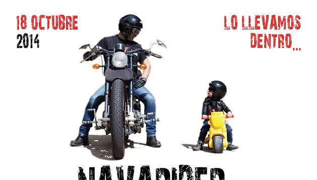 Los apasionados de las motos se citan en el Navarider Day