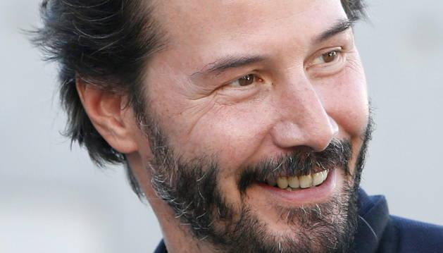 El actor Keanu Reeves