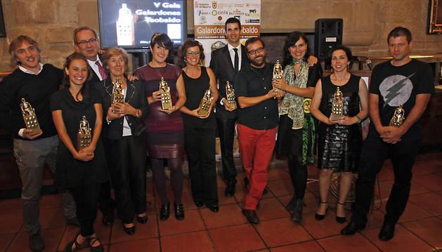 Los premios Teobaldo, en su quinta edición, de periodistas a periodistas