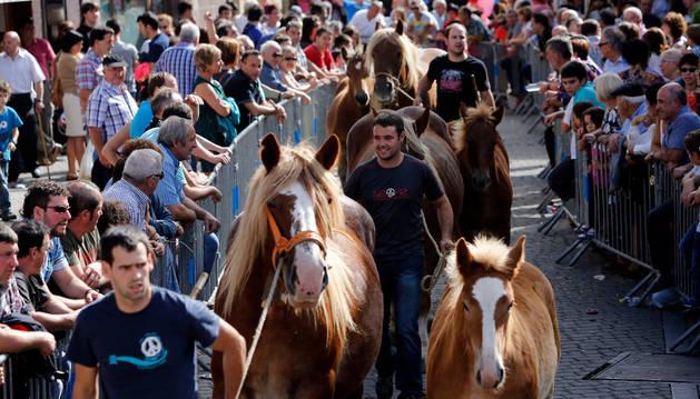 Rotundo éxito de asistencia en el día grande de las ferias de Alsasua
