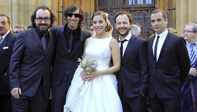 Leire Martínez, cantante de la Oreja de Van Gogh, se casa