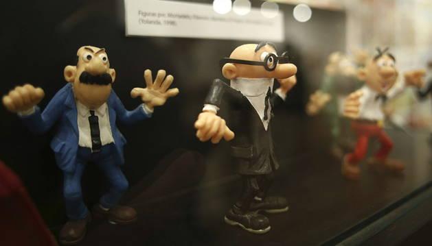 Figuritas de los personajes creados por Francisco Ibáñez