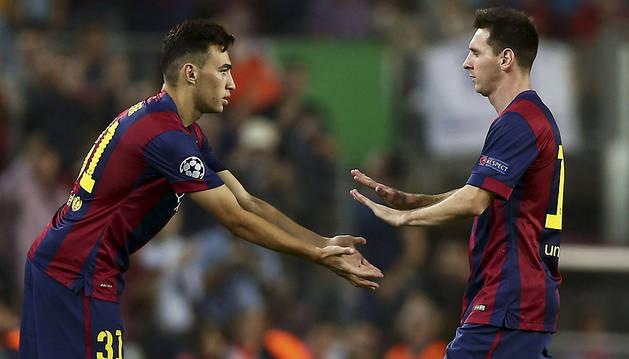 El Barça hace la 'tarea europea' antes del Clásico