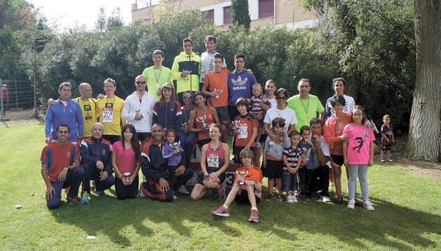 Más de 100 atletas corren en la localidad de Fontellas