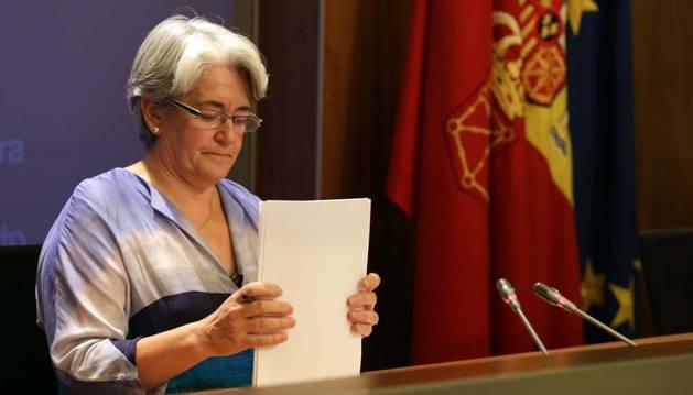 La vicepresidenta, Lourdes Goicoechea
