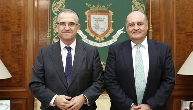 Primer encuentro formal entre el alcalde y el presidente del TSJN