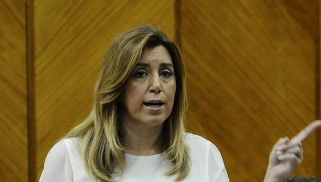 La presidenta andaluza Susana Díaz.