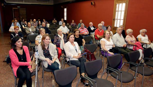 Asistentes al ciclo de charlas sobre Vicente Ilzarbe
