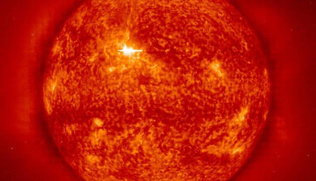 Manchas solares captadas en el año 2000.