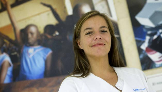 La doctora Marta Arsuaga: