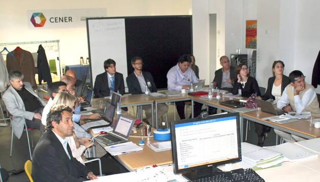 Asistentes al comité ejecutivo de Eurosunmed