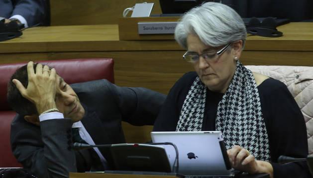Sánchez de Muniáin y Goicoechea, en el Parlamento