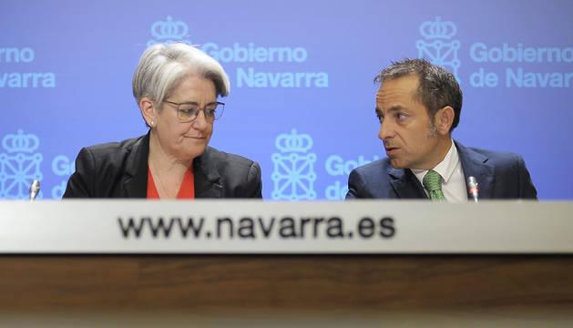 Sánchez de Muniáin y Lourdes Goicoechea.