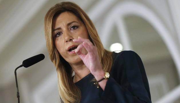 Susana Díaz apoyará a Pedro Sánchez pero no renuncia a