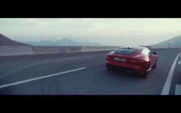 Jaguar F type coupé