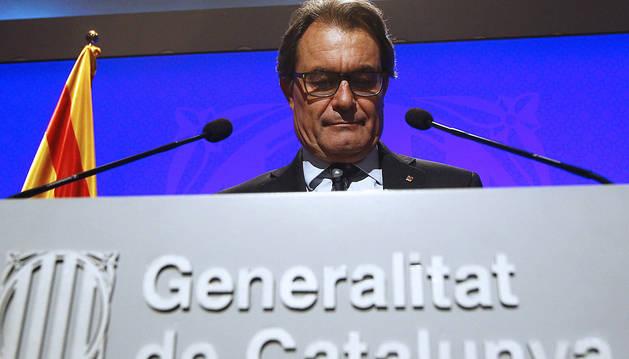 Artur Mas sigue adelante con la consulta soberanista del 9N