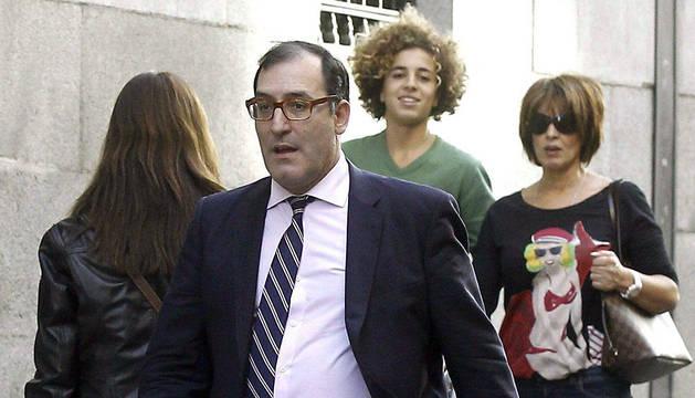 El juez Eloy Velasco a su llegada a la Audiencia Nacional
