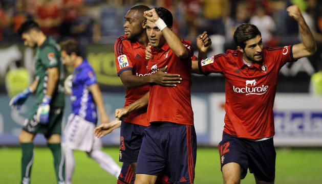 Lóe, Nekounam y Ansarifard, contra el Tenerife