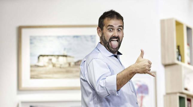 David de Jorge, más conocido como 'Robin Food'