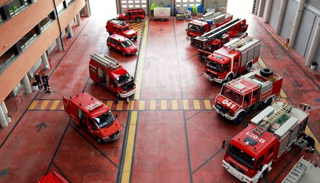 Parque de bomberos de Cordovilla