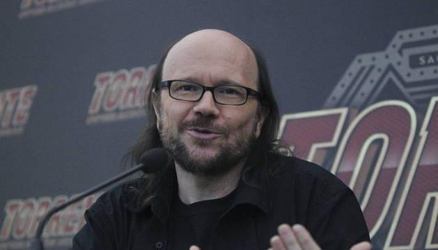 El actor y director español Santiago Segura.
