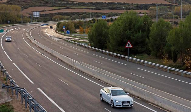 Una imagen de la Autovía del Camino.