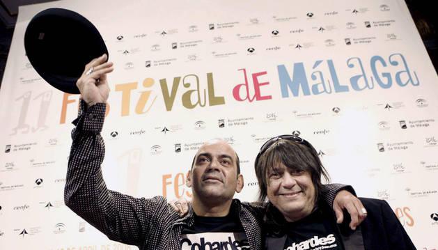 José Corbacho y Juan Cruz, los directores del filme
