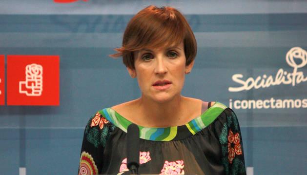 Rueda de prensa - PSN María Chivite