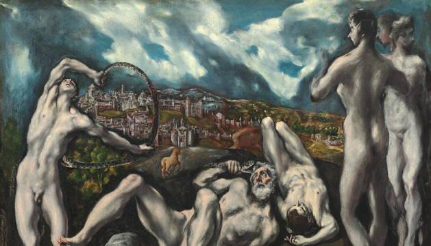 Imagen de divulgación de una de las obras de El Greco