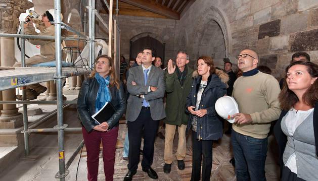 La restauración del claustro de la catedral, lista para inicios de 2015