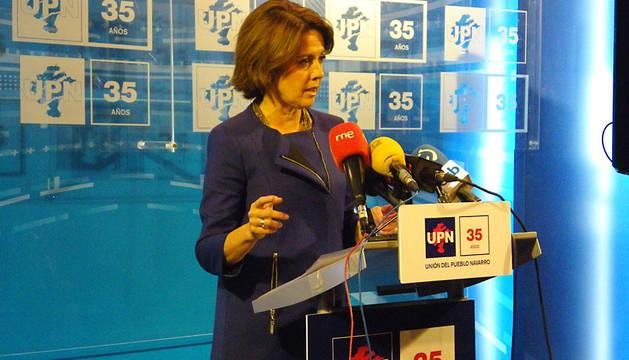 Barcina, candidata, presidenta, elecciones