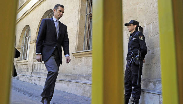 Anticorrupción mantiene un pacto con Urdangarin para suavizar su pena