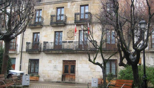 Fachada del ayuntamiento de Alsasua