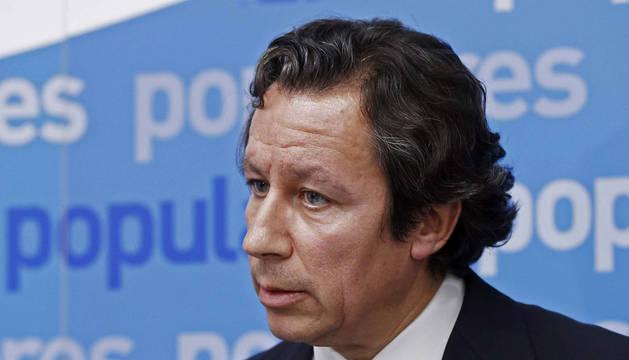 Carlos Floriano, esta tarde en Pamplona