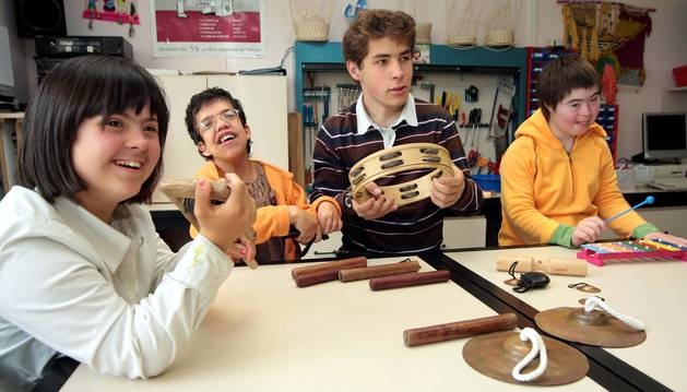 Alumnos de Isterria, en Ibero