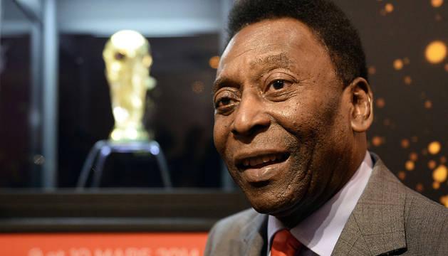 Edson Arantes do Nascimento 'Pelé'.
