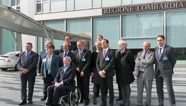Representantes de las regiones del programa