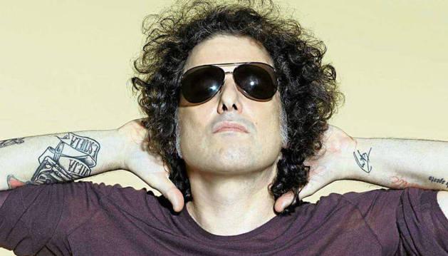 El cantante Andrés Calamaro