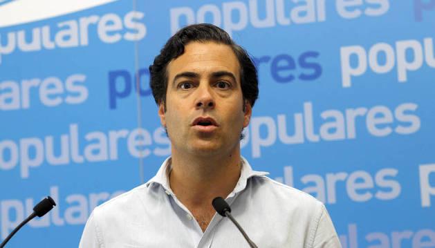 El eurodiputado del PP, Pablo Zalba