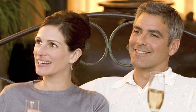 George Clooney y Julia Roberts.
