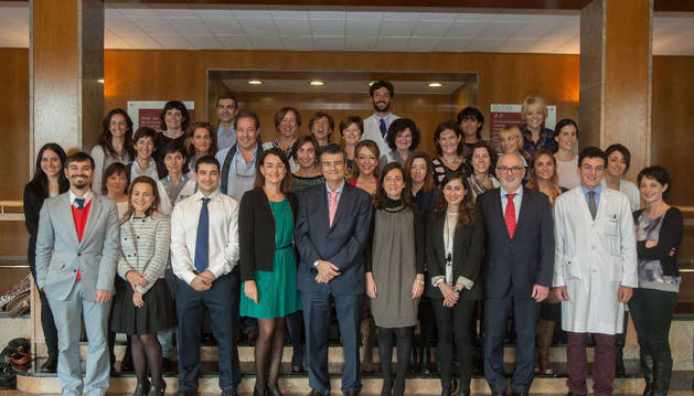 Participantes en la Jornada científica de la Unidad de Psiquiatría Infantil y Adolescente