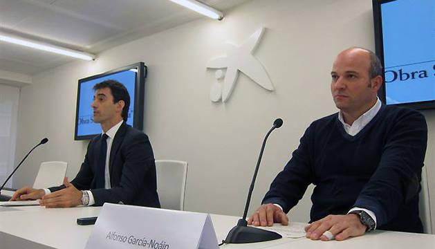 José Antonio Lahoz y Alfonso García-Noáin, en la presentación del programa
