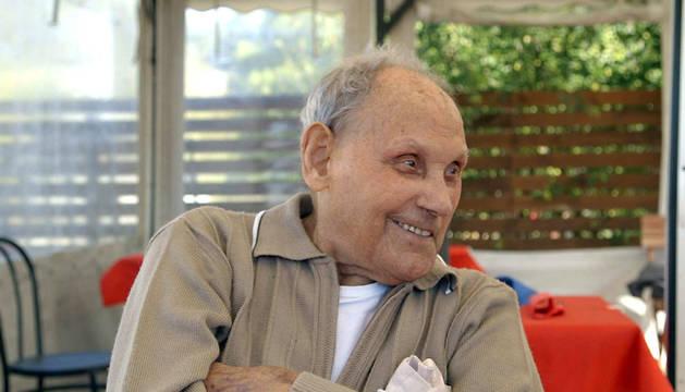 Esteban Pérez, durante una entrevista reciente.