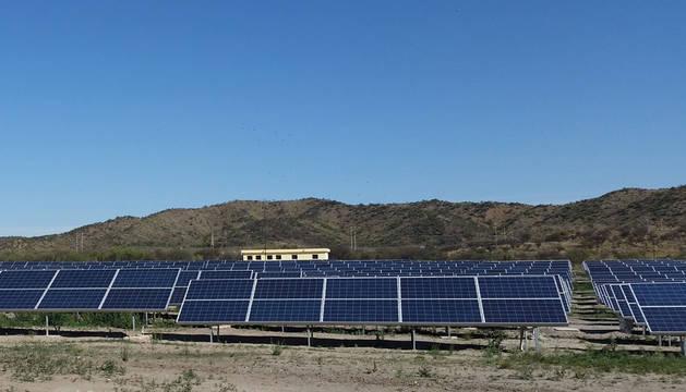 Planta fotovoltaica de Terrazas del Portezuelo