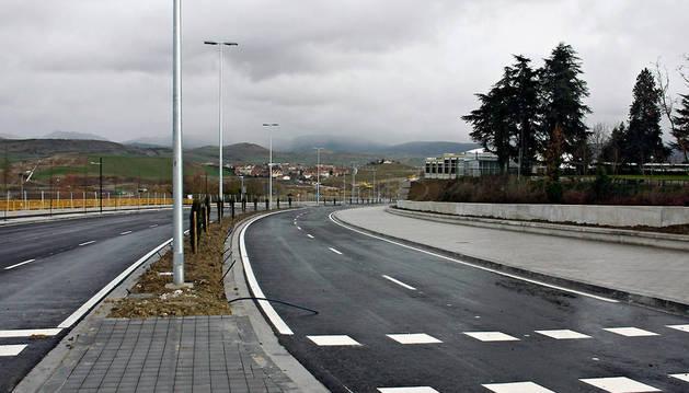 Vista general de la avenida Juan Pablo II