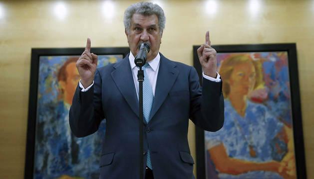 El presidente del Congreso de los Diputados, Jesús Posada