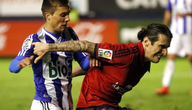 Nikola Vujadinovic, contra la Ponferradina