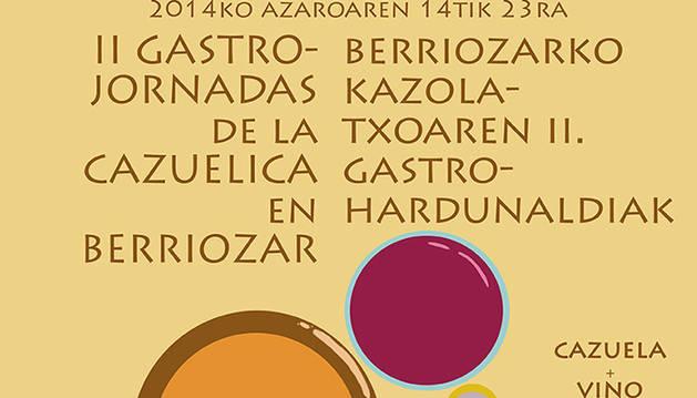 II Gastro-Jornadas de la cazuelica en Berriozar